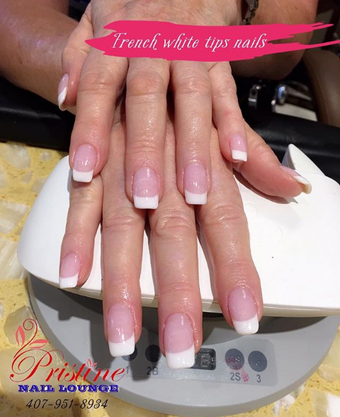 Simple choice for Simple beauty This Pink and White nails design is a perfect option for girls who like simplicity Not fussy but still very eyecatching and attractive  Let make people see that classic but still classy beauty form this set  Do you love what youre seeing If YES then dont hesitate to get it right today  Pick up your phone or simply INBOX us now for appointmentspristinenaillounge florida orlando maitland altamonte altamontespring oviedo lakemary longwood winterpark PinkandWhite