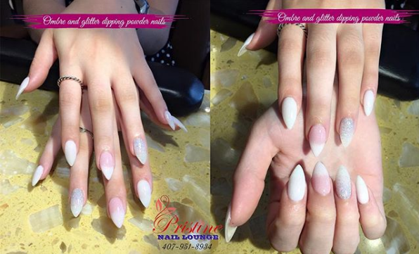 WANNA BE PRETTY GO WITH DIPPING POWDERDipping Powder nails are always ladies top choice cuzDurable Exquisite TrendyDipping powder nails have never let us down with all the benefits and effects on nails Come to Pristine Nails Lounge to get your nails beautified now pristinenaillounge florida orlando maitland altamonte altamontespring oviedo lakemary longwood winterpark winterparkvillage DippingPowderNails Pinknails